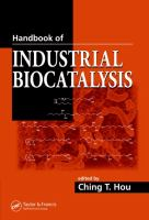Handbook of Industrial Biocatalysis [electronic resource]