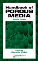 Hdbk of Porous Media [electronic resource]