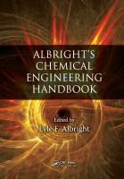 Albright's chemical engineering handbook [electronic resource]
