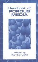 Handbook of Porous Media [electronic resource]