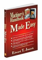 Machinery's handbook made easy [electronic resource]