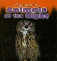 Animals of the night