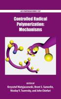 Controlled radical polymerization [electronic resource]