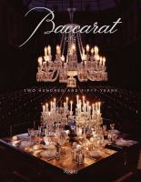 Baccarat : two hundred and fifty years