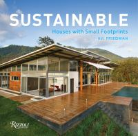 Sustainable : houses with small footprints