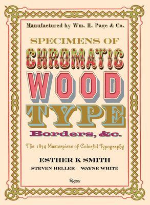 Specimens of chromatic wood type, borders, &c.