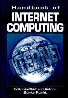 Handbook of Internet Computing [electronic resource]