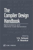 The Compiler Design Handbook [electronic resource]: Optimizations and Machine Code Generation