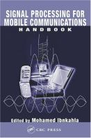 Signal Processing for Mobile Communications Handbook [electronic resource]
