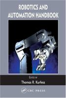 Robotics and Automation Handbook [electronic resource]