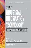 The Industrial Information Technology Handbook [electronic resource]