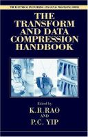 The Transform and Data Compression Handbook [electronic resource]