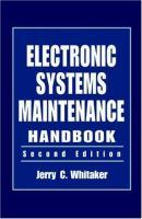 Electronic System Maintenance Handbook [electronic resource]