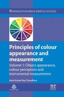 Principles of colour and appearance measurement. Volume 1, Object appearance, colour perception and instrumental measurement