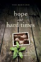 Hope and hard times : communities, collaboration and sustainability