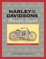 Harley and the Davidsons [electronic resource] : motorcycle legends