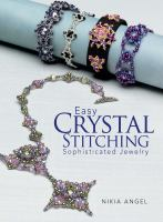 Easy crystal stitching : sophisticated jewelry