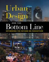 Urban design and the bottom line : optimizing the return on perception