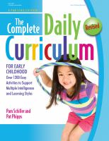 Complete Daily Curriculum For Early Childhood : Over 1200 Easy Activities To Support Multiple Intelligences And Learning Styles