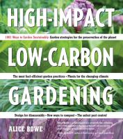 High-impact, Low-carbon Gardening