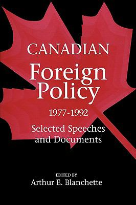 cover of the e-book Canadian Foreign Policy, 1977-1992