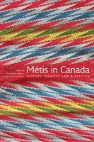book cover Metis in Canada : history, identity, law & politics