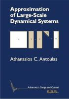 Approximation of Large-Scale Dynamical Systems [electronic resource]