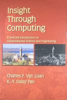 Insight through computing [electronic resource] : a MATLAB introduction to computational science and engineering