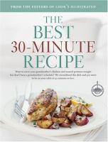 The Best 30-minute Recipe