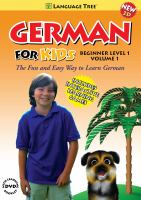 GERMAN FOR KIDS BEGINNER LEVEL 1 VOL 1 (DVD)