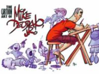 The cartoon art of Mike Deodato, Jr. Volume 1.