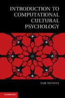 Introduction to computational cultural psychology [electronic resource]