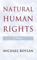 Natural human rights : a theory