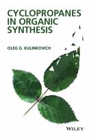 Cyclopropanes in organic synthesis [electronic resource]