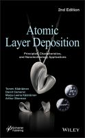 Atomic layer deposition [electronic resource] : principles, characteristics, and nanotechnology applications