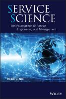 Service science [electronic resource] : the foundations of service engineering and management