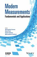 Modern measurements [electronic resource] : fundamentals and applications