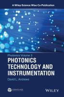 Photonics technology and instrumentation [electronic resource]