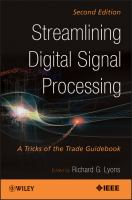 Streamlining digital signal processing [electronic resource] : a tricks of the trade guidebook