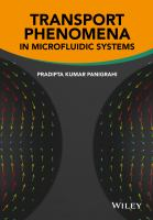 Transport phenomena in microfluidic systems [electronic resource]
