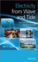 Electricity from wave and tide [electronic resource] : an introduction