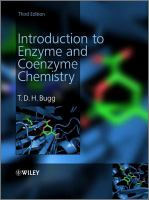 Introduction to enzyme and coenzyme chemistry [electronic resource]