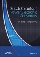 Sneak circuits of power electronic converters [electronic resource]