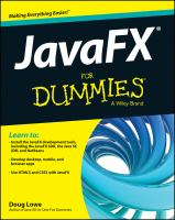 JavaFX for dummies [electronic resource]