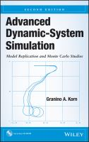 Advanced Dynamic-System Simulation [electronic resource] : Model Replication and Monte Carlo Studies