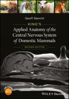 King's applied anatomy of the central nervous system of domestic mammals /