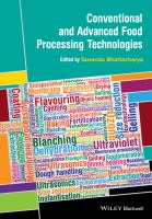 Conventional and advanced food processing technologies [electronic resource]