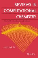 Reviews in computational chemistry. 28 [electronic resource]
