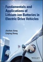 Fundamentals and applications of lithium-ion batteries in electric drive vehicles [electronic resource]