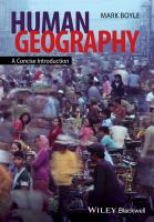 Human geography [electronic resource] : a concise introduction